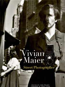 Vivian's self-portrait photo - the cover of  Vivian Maier Street Photographer, edited by John Maloof
