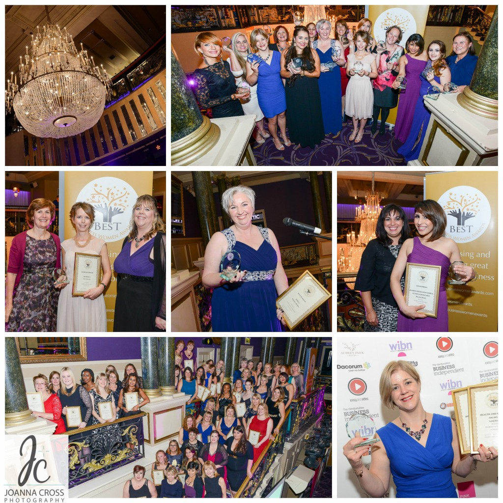 Selection of photos from the Best Business Women Awards 2015